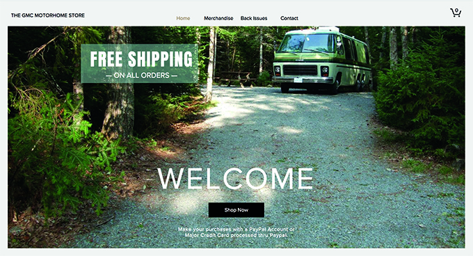 We invite you to check out our store.