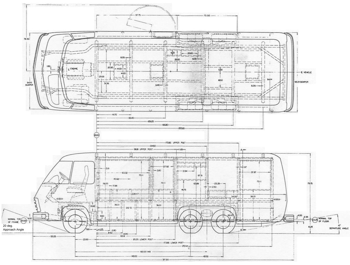 rv camper dimensions wiring diagrams