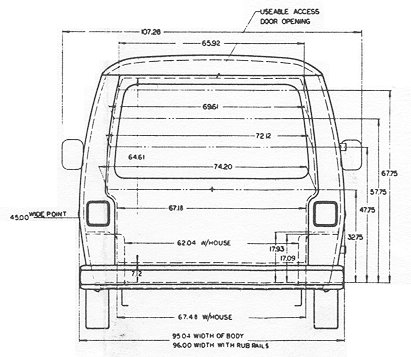 Gmcmh drawings gmcmi gmc rear dimensions cheapraybanclubmaster Choice Image